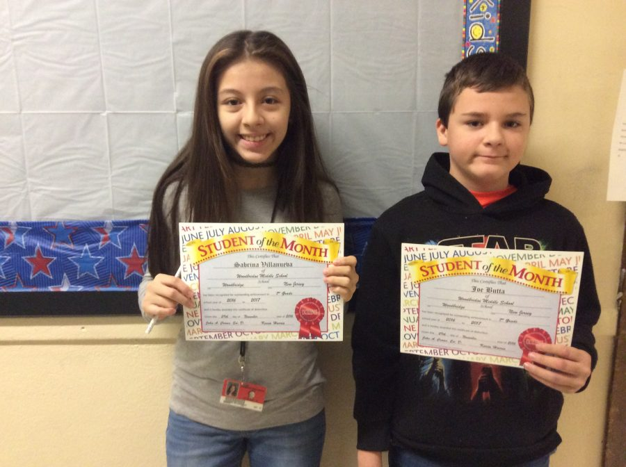 November 7th Grade Students Of The Month Continue The Legacy The