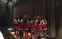 WMS first team of cheerleaders end the year with glitter and pom poms