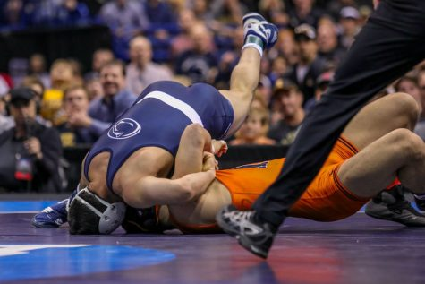The NCAA D1 wrestling championships: Some got pinned and some win