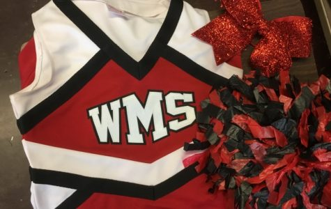 October Brings WMS Cheerleading Tryouts