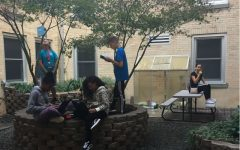 School courtyard maintained after 18 years by student Ryleigh Mihalics and WMS staff