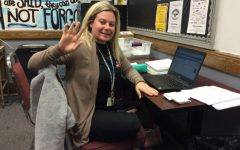 Ms. Davidson strives to help the students of WMS