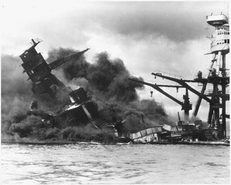 Bombing of Pearl Harbor-  12/7/1941
