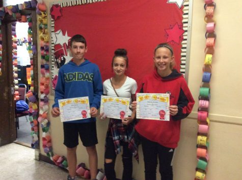 Jumping in with November Students of the Month!