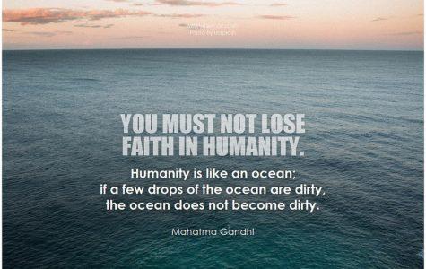 Inspiration from Mahatma Gandhi