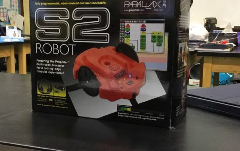 S2 robots rolls back to Mr. Blackmore's class