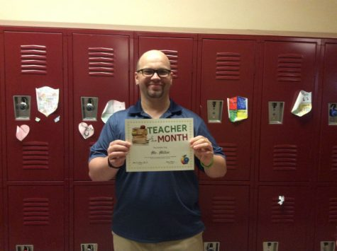 7th grade March Teacher of the Month