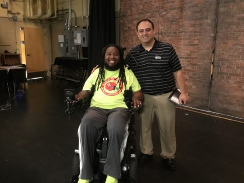 """Life is about having curveballs thrown at you, but after awhile you just have to learn how to hit them."" Eric LeGrand inspires WMS"