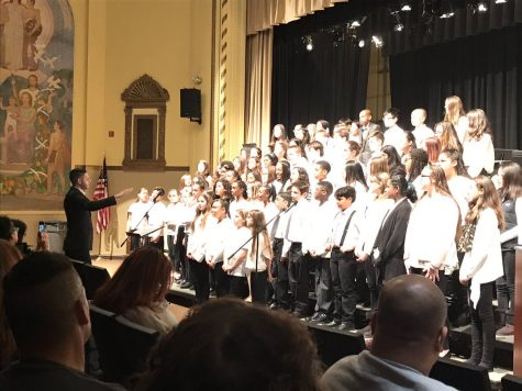 WMS winter concert was snow joke