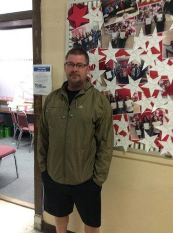 Mr. Kobylakiewicz conveys that the students are the ones that keep him going: March 8th grade TOTM