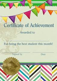 May students of the month strive for success