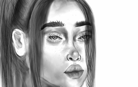 Billie Eilish Portrait Attempt