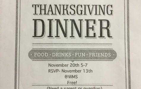 WMS Thanksgiving Dinner