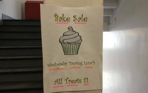 Hip, hip, hooray! There's a cheer bake sale today! (Actually, it's tomorrow but that doesn't rhyme)