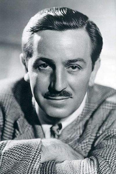 Photo via https://commons.m.wikimedia.org/wiki/File:Walt_Disney_1946.JPG under the Creative Commons lisence