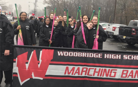 Middle schooler's musicality gets them into high school marching Band