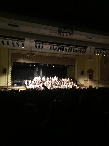 The WMS Winter Concert sends chills down audience member's spines