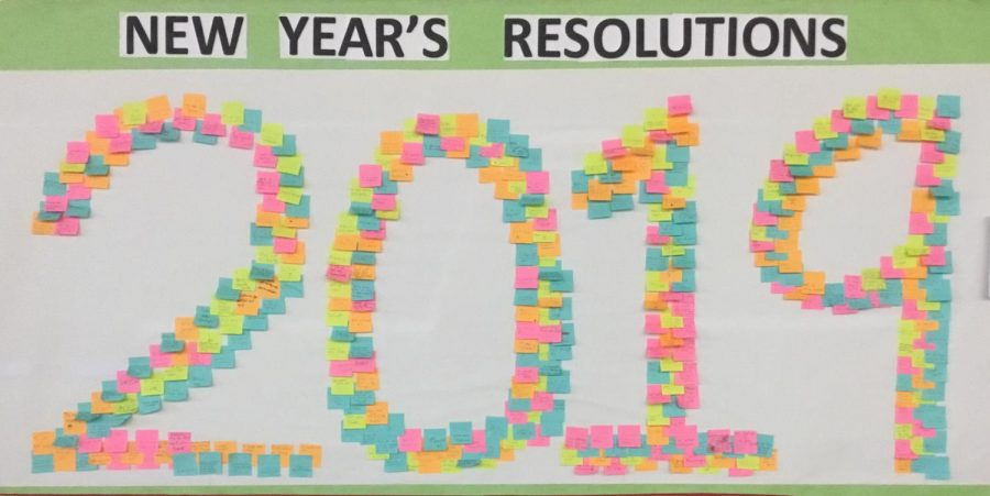 Mrs.Donewitz inspires WMS to make resolutions