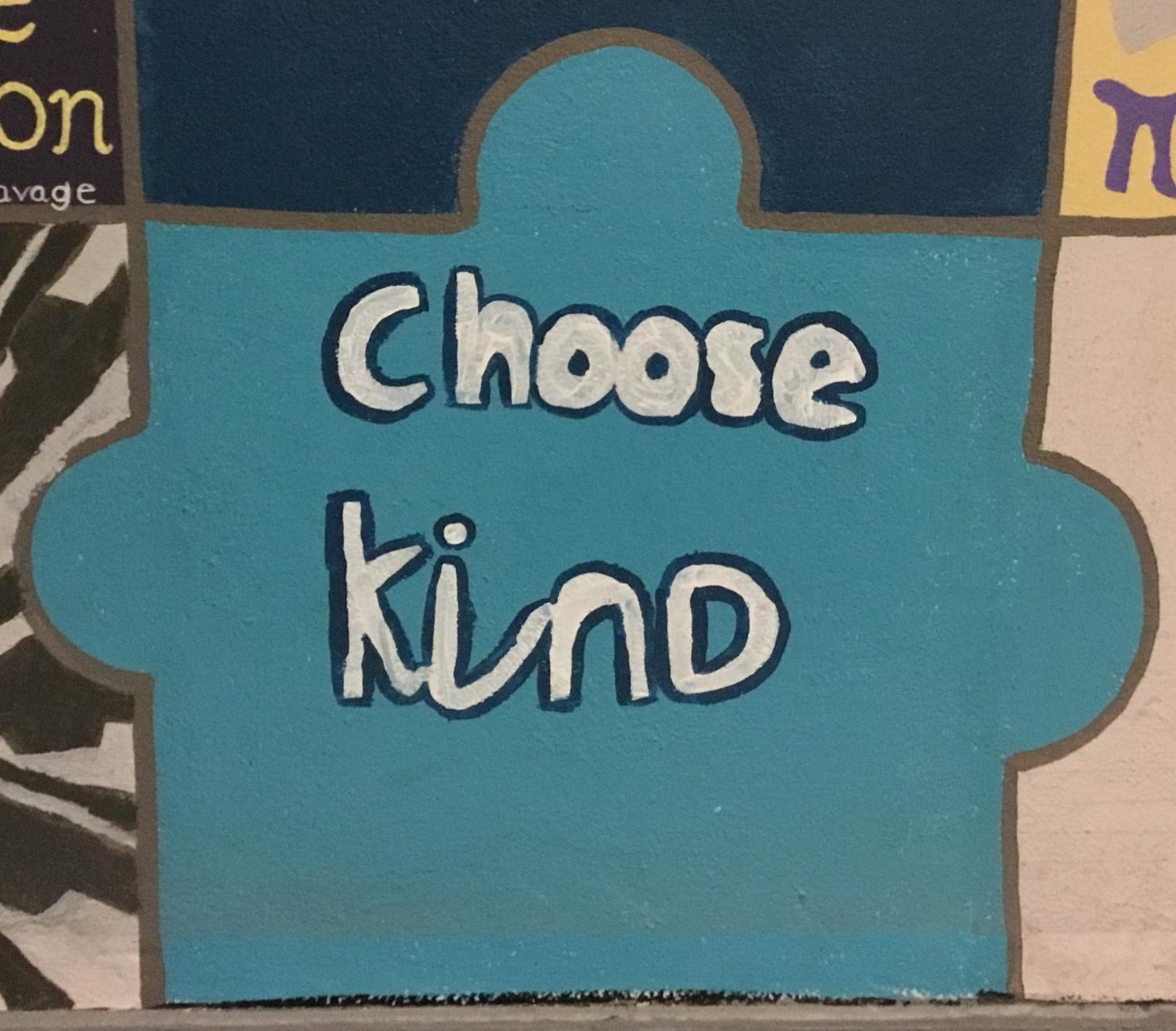 CHOOSING KINDNESS: By choosing kindness, we can solve an epidemic