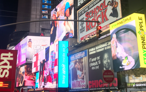 Times Square and its billboards