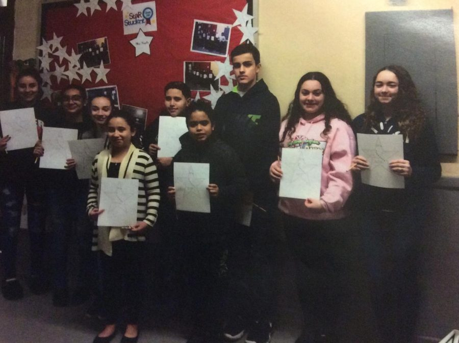 The January STAR Students of the Month shine