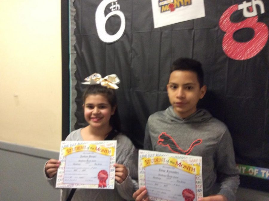WMS students show Warrior Way in January!