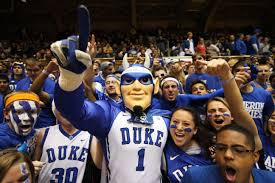 Duke fans experiencing the madness. Photo Via https://commons.wikimedia.org/wiki/File:20131203_Cameron_Crazies.jpg