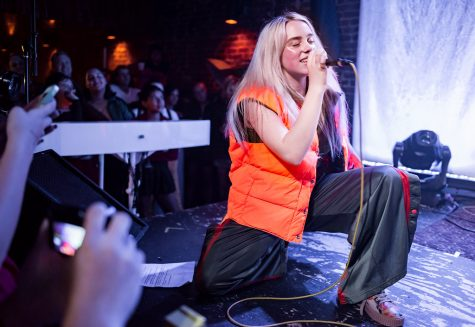 When Billie Eilish drops a new album, where does she go? To the top of the charts!