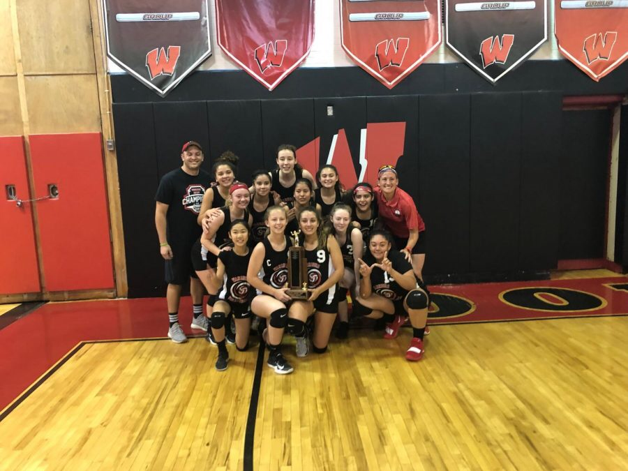Girls Volleyball Sets Themselves Up For Victory