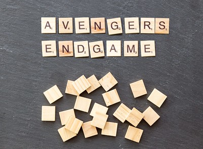 Photo labeled for non-commercial reuse via https://www.google.com/search?q=avengers+endgame&rlz=1CAQXWL_enUS865&tbm=isch&source=lnt&tbs=sur%3Af&sa=X&ved=0ahUKEwiu4aSJ_P3lAhUip1kKHR_sAb0QpwUIIw&biw=1300&bih=605&dpr=1.05&safe=active&ssui=on#imgrc=3chEfVfzpMprjM: Under the Creative Commons Licence