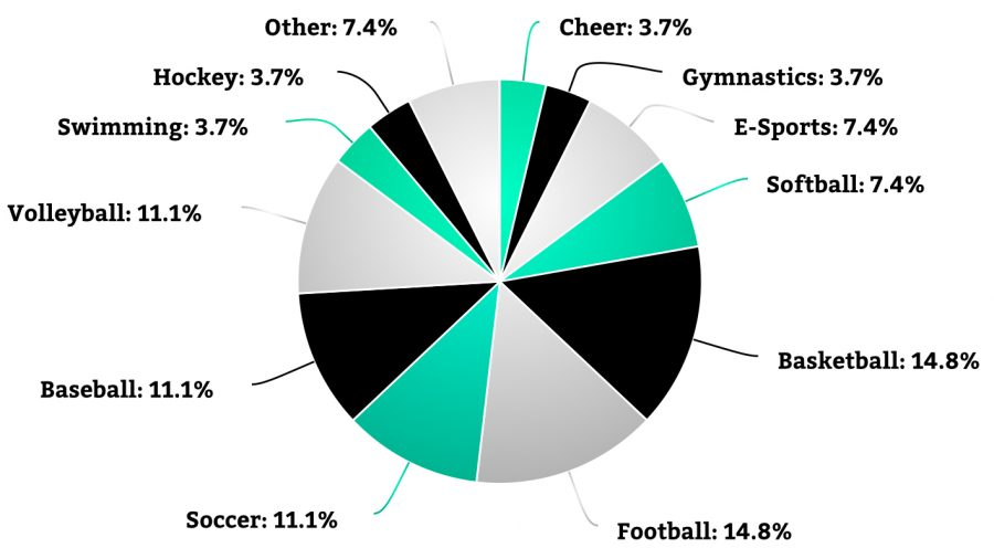 This Pie Chart displays the results of the poll. (Pie chart created with meta-chart.com)