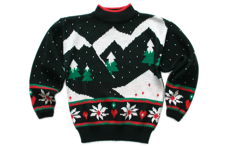 Labeled for noncommercial reuse via https://en.wikipedia.org/wiki/File:Christmas_Sweater.jpg under the Creative Commons Licences