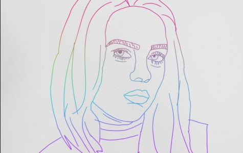 Billie Eilish Drawing
