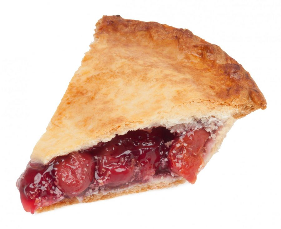 labeled for noncommercial reuse via https://commons.wikimedia.org/wiki/File:Cherry-Pie-Slice.jpg under Creative Commons Licence