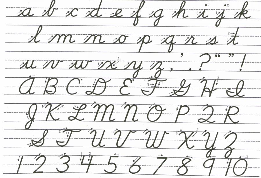 Should cursive write its way into school curriculum?
