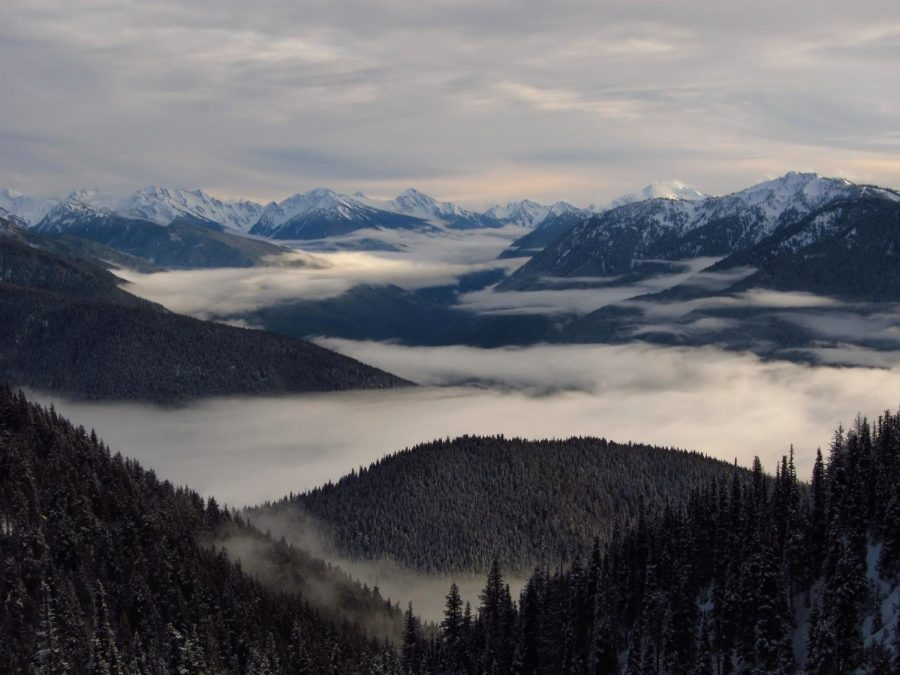 Photo Labled for non-commercial reuse via https://www.pexels.com/photo/aerial-photography-of-foggy-mountains-163499/ Under the Creative Commons License