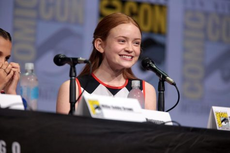 Photo via https://commons.wikimedia.org/wiki/File:Sadie_Sink_(35409065363).jpg  Under the Creative Commons License
